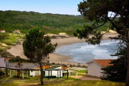 Vista hacia la playa de Santa Teresa