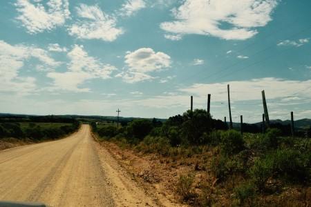 Camino a las Sierras de Rocha