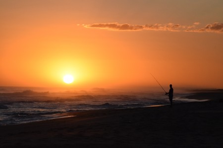 Sport fishing in fresh or salt water in Rocha, Uruguay