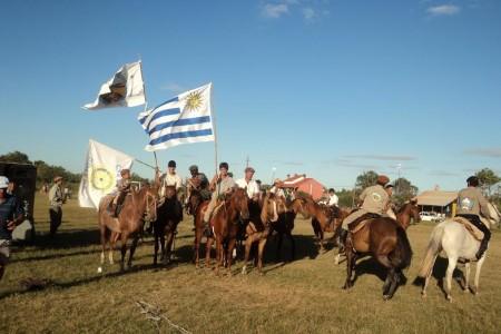 Fiesta de la tradición en La Coronilla, Rocha