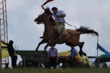 Fiesta criolla en la Sociedad Rural 19 de Abril de Rocha