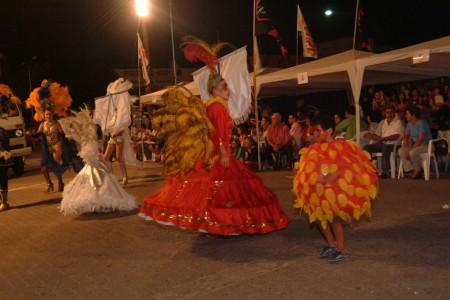 Carnaval Binacional en Chuy, samba, murga y candombe