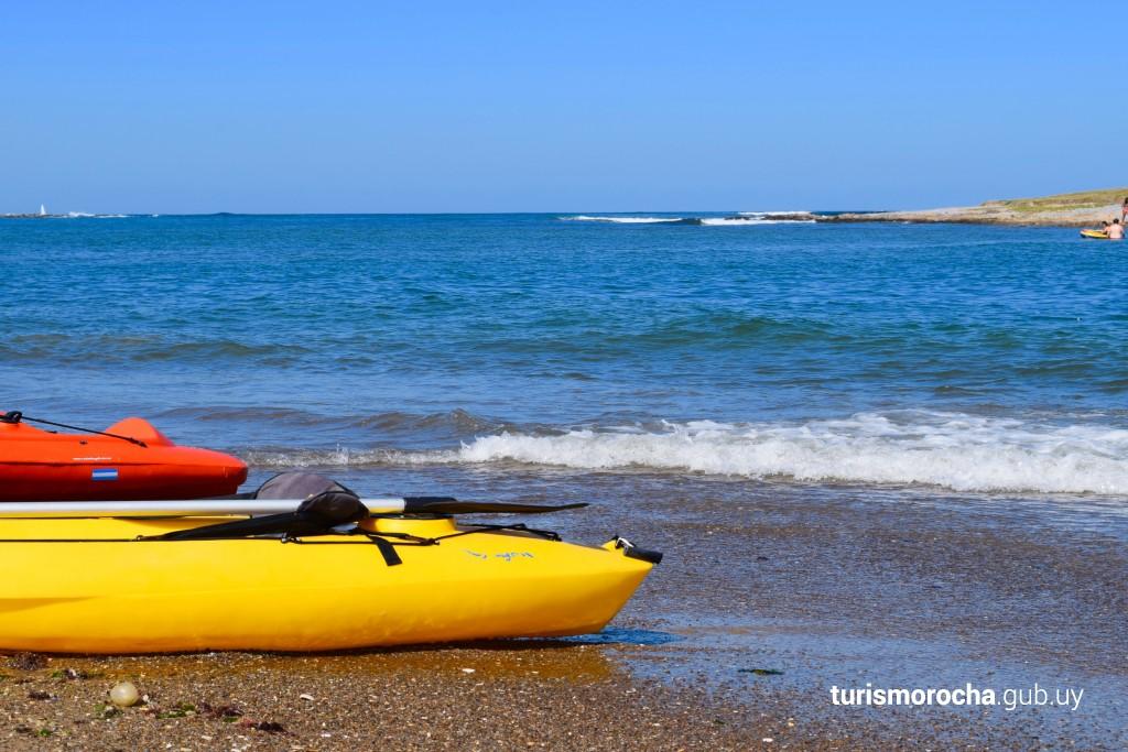 Náutica para todos en playa accesible Bahía Grande de La Paloma