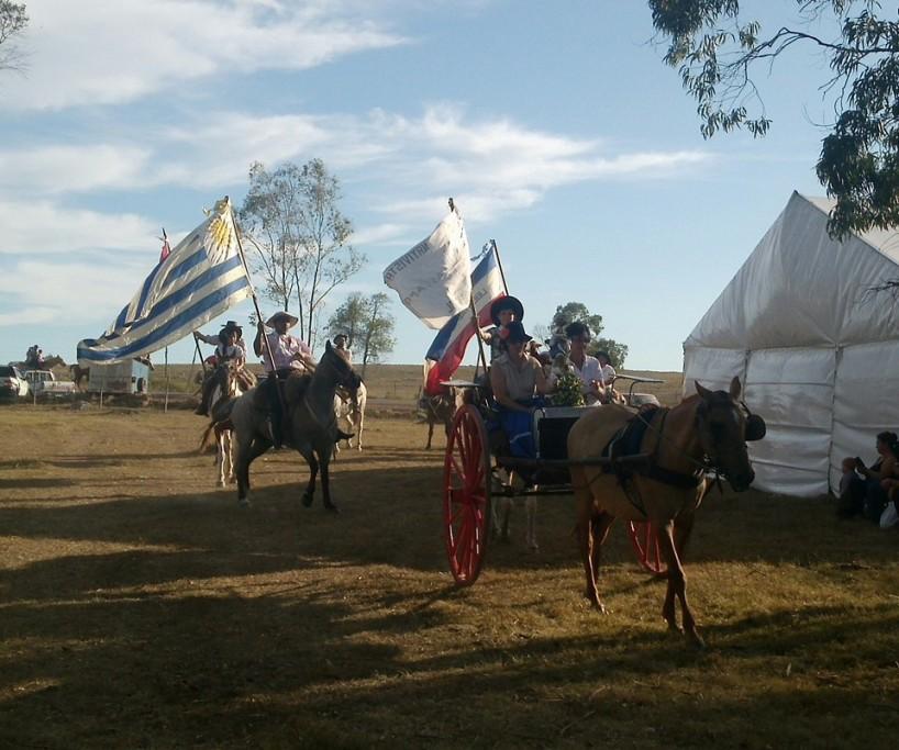 Fiesta de doma y folclore, Lascano