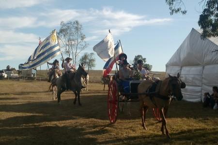Fiesta de doma y folclore