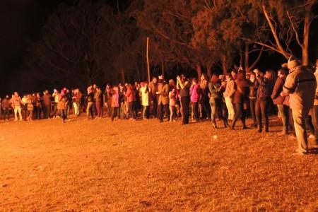 Hogueras de San Juan en la Sociedad Rural 19 de Abril