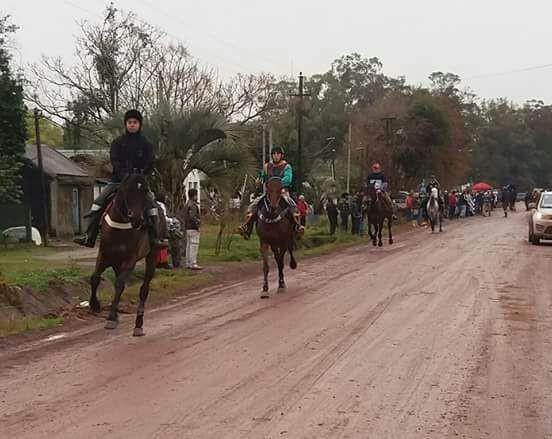 Fiesta hípica en Cebollatí, fiesta tradicional de Rocha