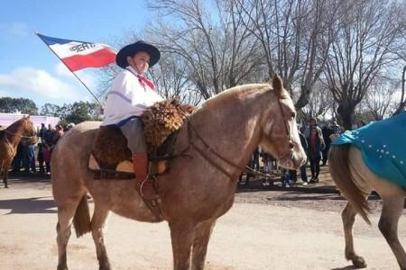 Fiesta patria en 18 de Julio, Rocha