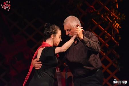 Tango en el callejón en Rocha