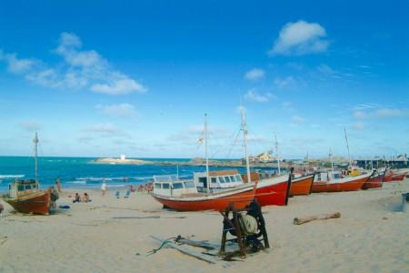 Playa de Los Pescadores en Punta del Diablo