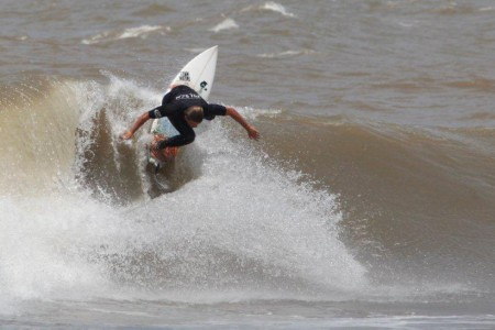 Ideal beaches for surfing in La Paloma, Rocha, Uruguay