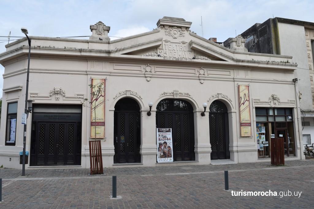 Teatro 25 de Mayo en Rocha