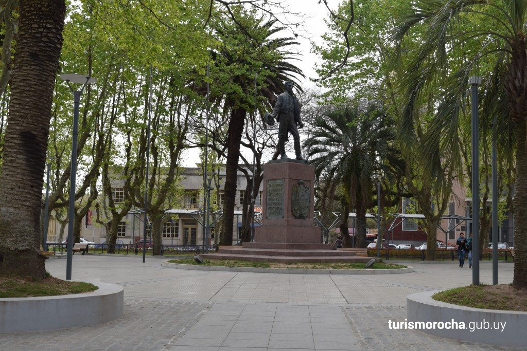 Plaza Independencia en Rocha