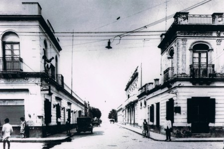 Self-guided historical walk through the city of Rocha, patrimonial circuit in Uruguay