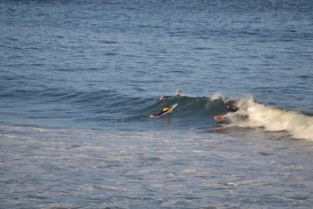 Surf en Playa El Desplayado, La Pedrera