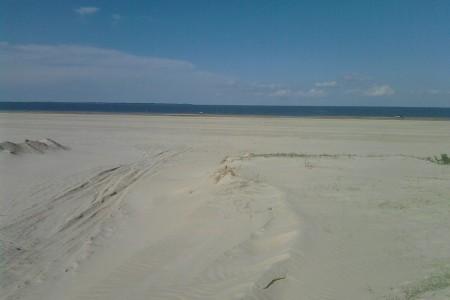 Costas sobre la Laguna Merín