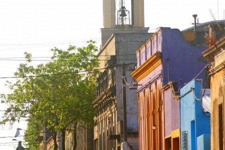 Adoquines de la ciudad de Rocha