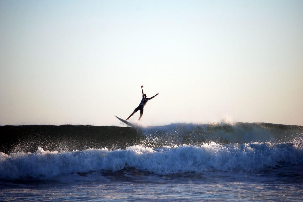 Surf en Cabo Polonio en Cabo Polonio