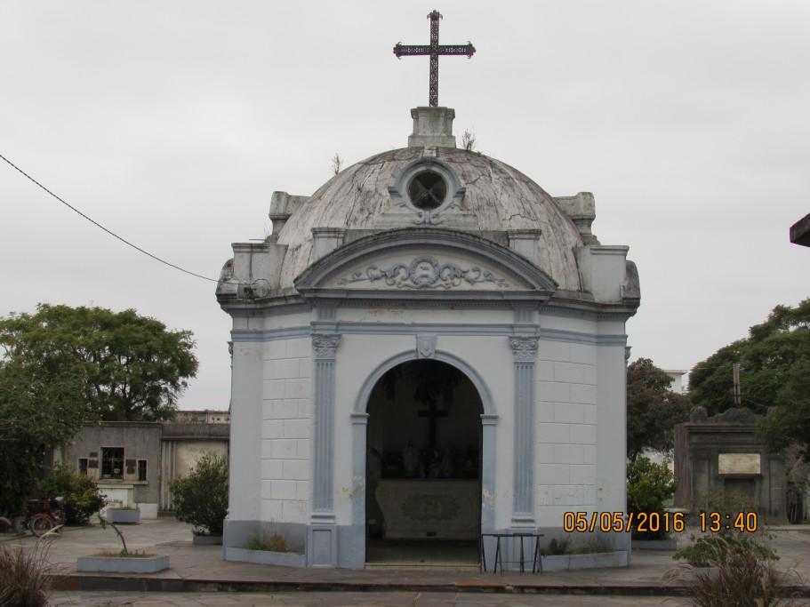 Cementerio local en Rocha