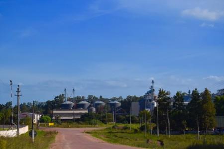 Zona industrial de Lascano