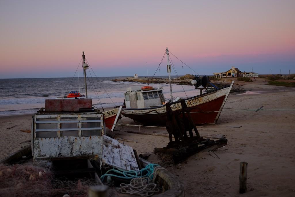 Barcas de pesca artesanal - Foto: Leonardo Maiche