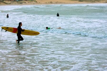 Surf en Punta del Diablo