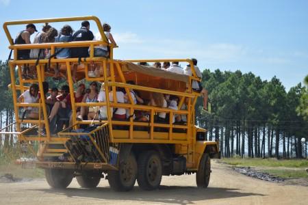 Ingreso en vehículos especiales a Cabo Polonio