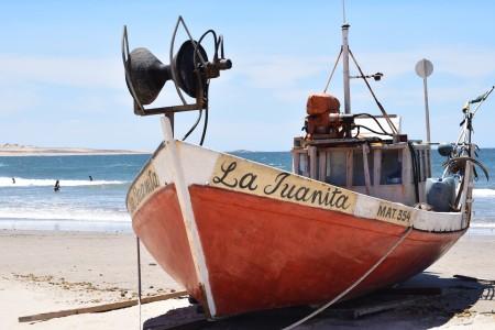 "Barca ""La Juanita"" de la Playa La Calavera"