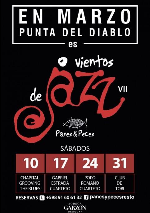 """En marzo """"Vientos de Jazz"""" VII en Punta del Diablo"""