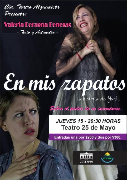 """""""En mis zapatos"""", la historia de Yo-Li en el Teatro 25 de Mayo de Rocha"""