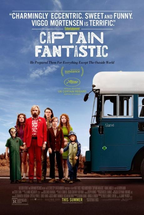 """Cine bajo las estrellas en Punta del Diablo: """"Captain Fantastic"""""""