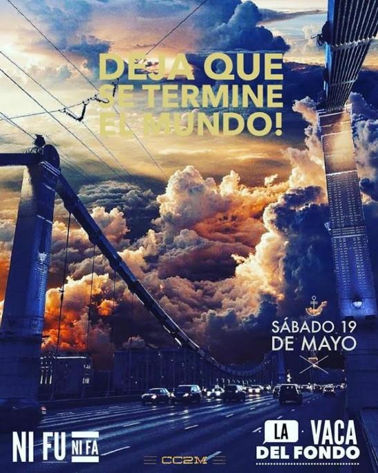 Show en vivo de La Vaca del Fondo y Ni Fu Ni Fa en el Complejo Cultural 2 de Mayo de Castillos