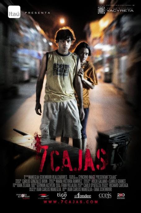 """Viernes de cine en el Complejo Cultural 2 de Mayo de Castillos: """"7 Cajas"""""""