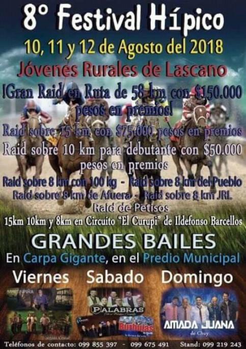 8° Festival Hípico de los Jóvenes Rurales en Lascano