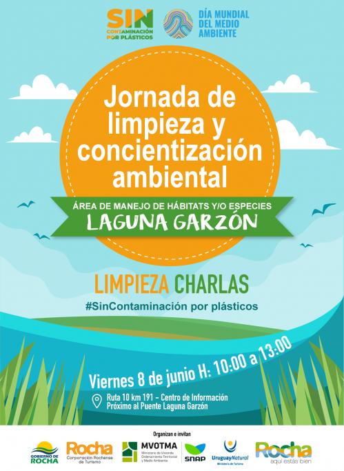 Jornada de limpieza y concientización ambiental en la Laguna Garzón. ¡Súmate!