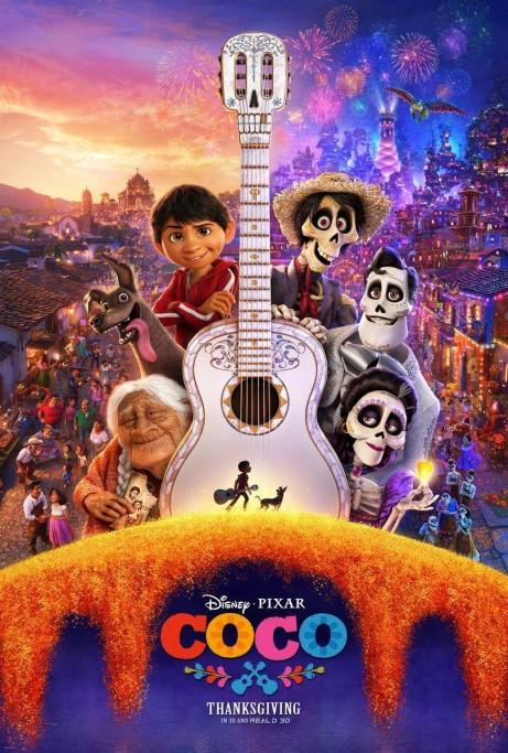 """Cine gratis en vacaciones de invierno en Castillos: """"Coco"""""""