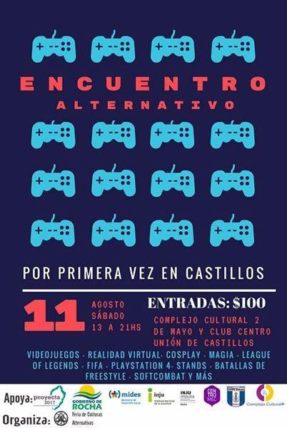 Encuentro alternativo en Castillos: cosplay, videojuegos, anime, consolas, torneos y diversión