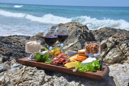 Degustación de quesos y vinos en Punta del Diablo