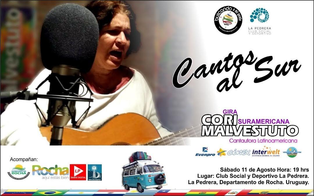 Show en vivo de la venezolana Cori Malvestuto en La Pedrera