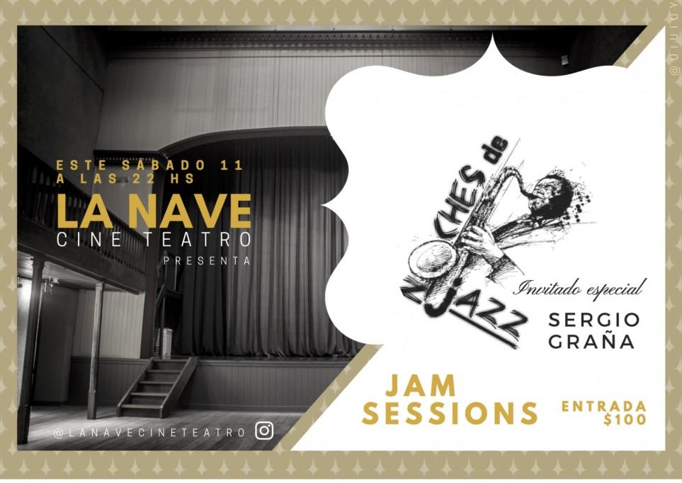 Jam Session, noche de jazz en La Nave Cine & Teatro de la ciudad de Rocha