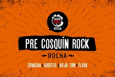 Pre Cosquín Rock 2018 en Rocha