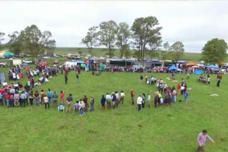 Gran fiesta criolla a beneficio en Lascano