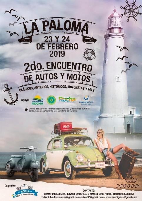 """""""2do Encuentro de autos y motos"""": clásicos, antiguos, históricos, motonetas se reúnen en verano en La Paloma"""