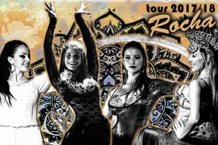 Show de danzas en Rocha