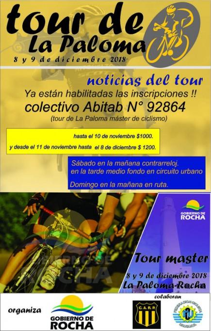 Tour de La Paloma 2018, una gran competencia de ciclismo que durará dos días