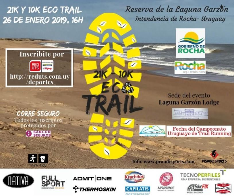 21K y 10K de Eco Trail Running en la Laguna Garzón