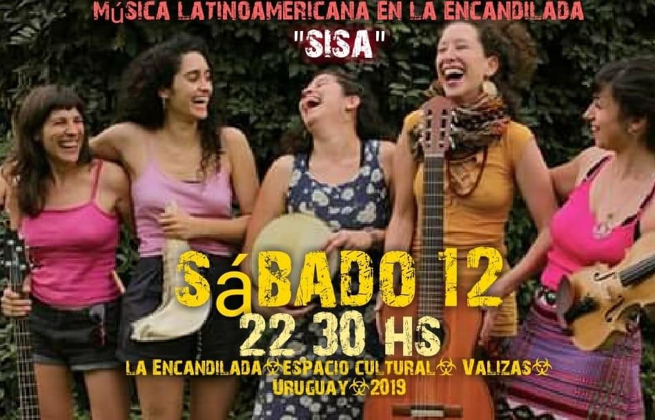 """""""SISA"""" música latinoamericana en La Encandilada en Barra de Valizas"""