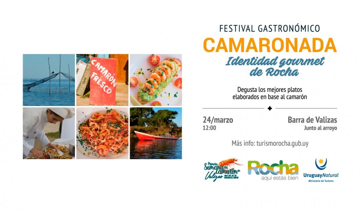 2da Camaronada en Barra de Valizas en Semana de Turismo: identidad gourmet de Rocha