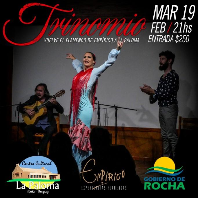 """""""Trinomio"""": vuelve el flamenco de Empírico al Centro Cultual de La Paloma"""