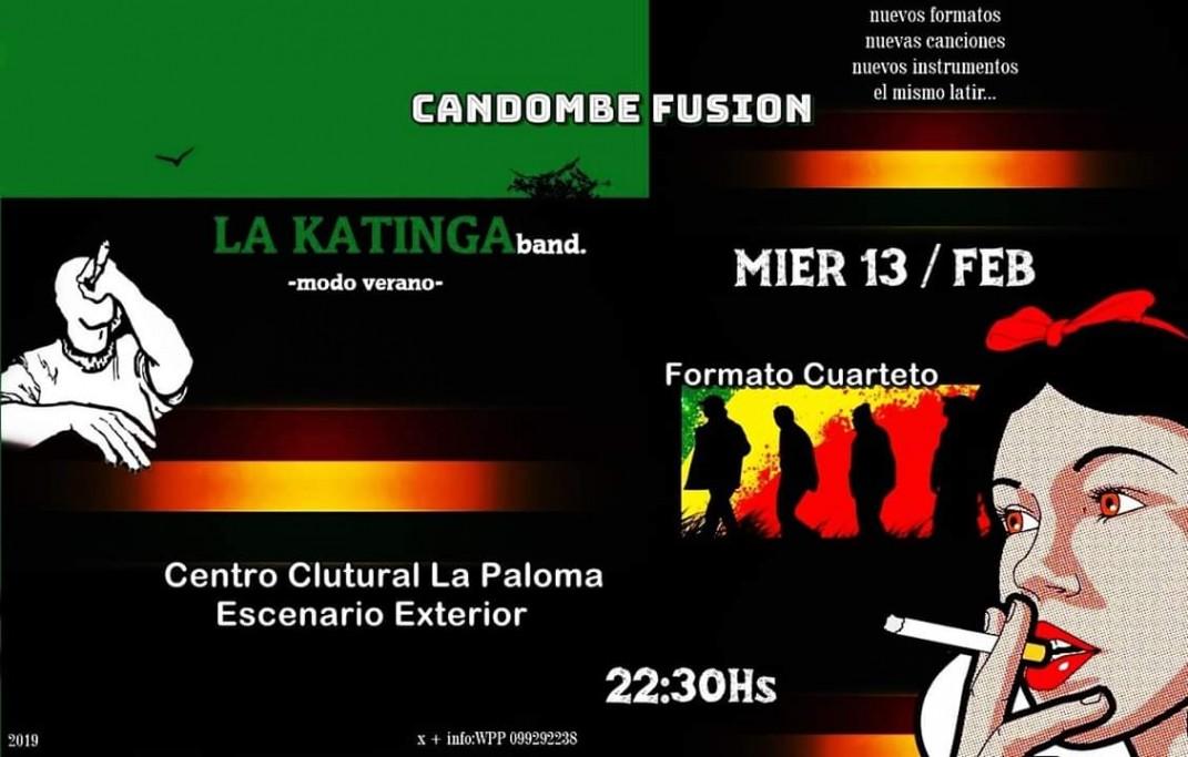 """La Katinga Band presenta su show """"Modo Verano"""" en el Centro Cultural de La Paloma, con nuevas propuestas"""